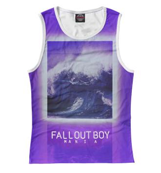 Женская Майка Fall Out Boy MANIA