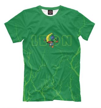 Футболка для мальчиков Brawl Stars Leon / Леон