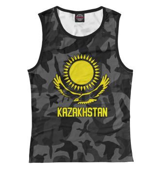 Женская Майка Kazakhstan