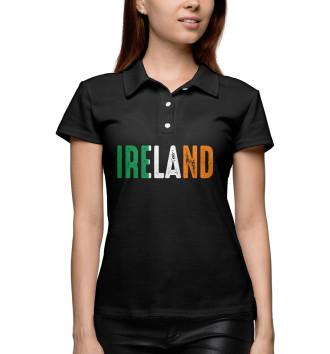 Женское Поло IRELAND - ИРЛАНДИЯ