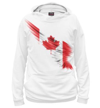 Женское Худи Свободная Канада