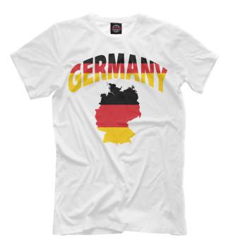 Мужская Футболка Германия