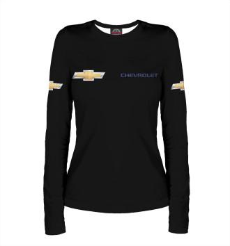Женский Лонгслив Chevrolet