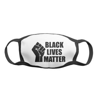Женская Маска Black lives matter