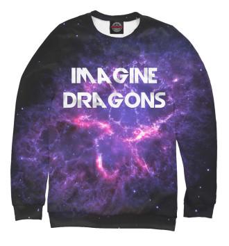 Мужской Свитшот Imagine Dragons in Stars