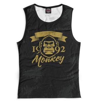 Женская Майка Год обезьяны — 1992