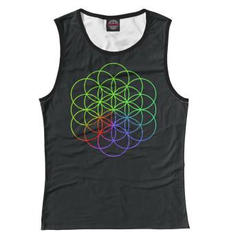 Женская Майка Coldplay