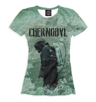 Женская Футболка Chernobyl