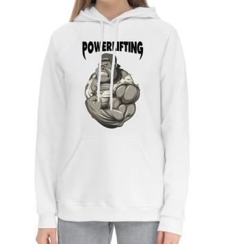 Женский Хлопковый худи Powerlifting