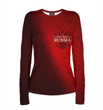 Женский Лонгслив Football Russia
