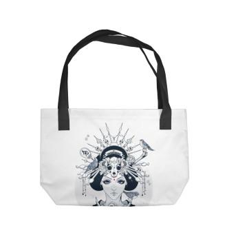 Пляжная сумка japan girl