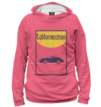 Мужское Худи Блудливая Калифорния