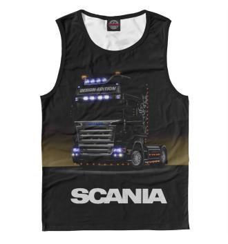 Мужская Майка Scania