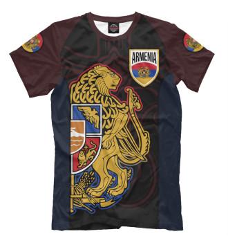 Мужская Футболка Armenia