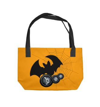 Пляжная сумка Хэллоуин