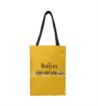 Сумка-шоппер The bEEtles