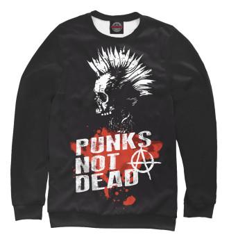 Мужской Свитшот Punks not dead