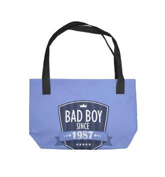 Пляжная сумка Плохой мальчик с 1987