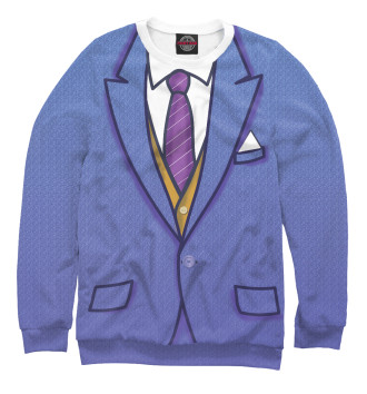 Мужской Свитшот Синий костюм
