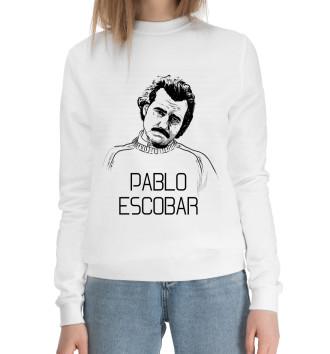 Женский Хлопковый свитшот Pablo Escobal