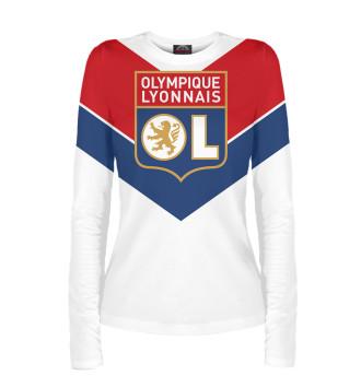 Женский Лонгслив Olympique lyonnais