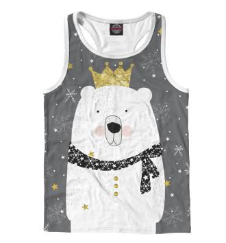 Мужская Борцовка Белый медведь