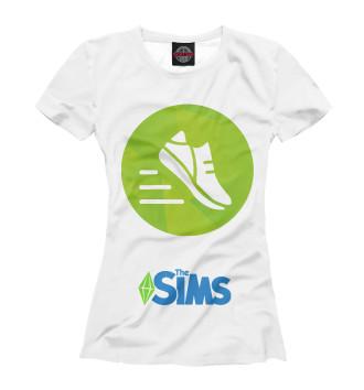 Женская Футболка The Sims Фитнес