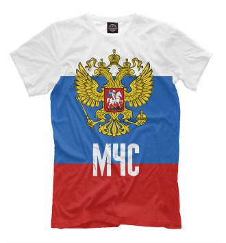 Мужская Футболка МЧС России