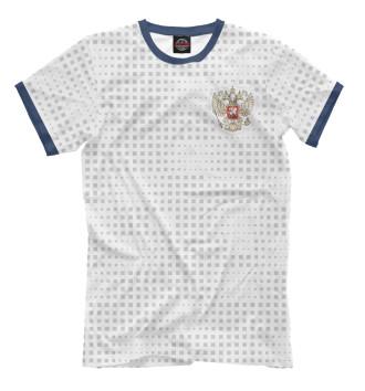 Мужская Футболка Форма Сборной России