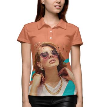 Женское Поло Lana Del Rey