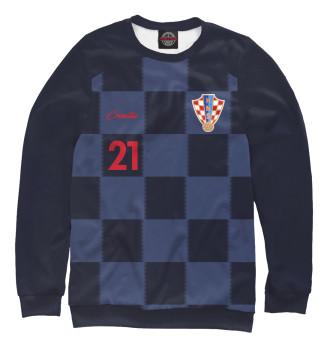 Мужской Свитшот Домагой Вида - Сборная Хорватии