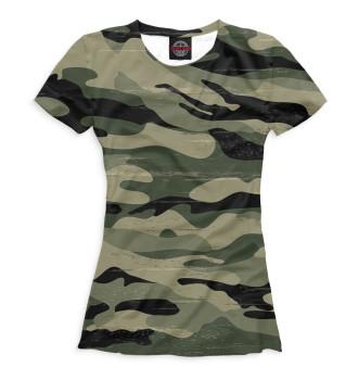 Женская  Camouflage Green