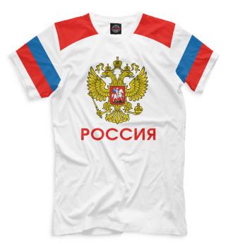 Мужская Футболка Сборная России