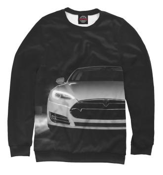 Мужской Свитшот Tesla Model S