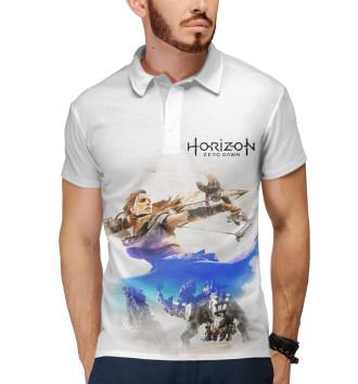 Мужское Поло Horizon Zero Dawn