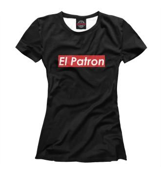 Женская Футболка El Patron