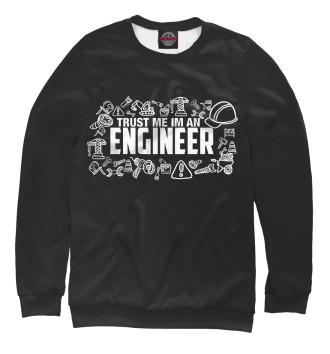 Мужской Свитшот Trust me I am an Engineer