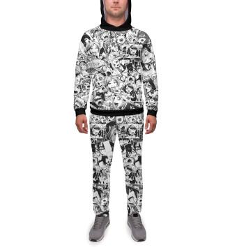 Мужской Спортивный костюм Ahegao