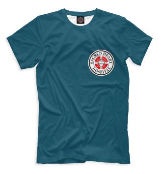 Мужская Футболка Клиника Sacred Heart