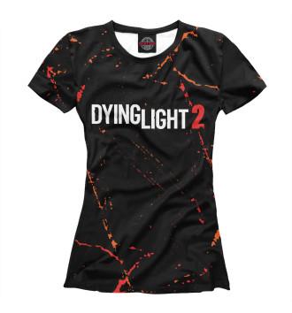 Женская Футболка Dying Light 2