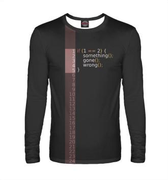 Мужской Лонгслив If 1 == 2