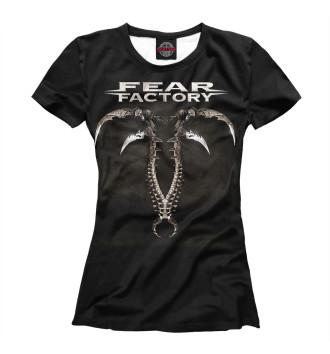 Женская Футболка Fear Factory