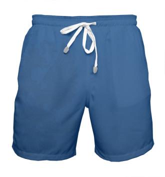 Мужская Шорты мужские Синие шорты