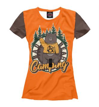 Женская Футболка Bad Bear Camp