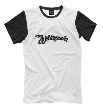 Мужская Футболка Whitesnake