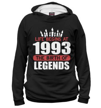 Женское Худи 1993 - рождение легенды