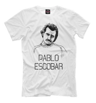 Мужская Футболка Pablo Escobal