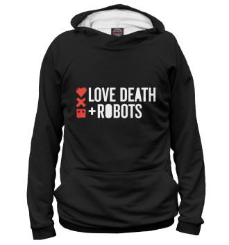Мужское Худи Любовь, смерть и роботы