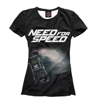 Женская Футболка Need For Speed