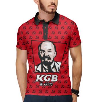Мужское Поло KGB So Good